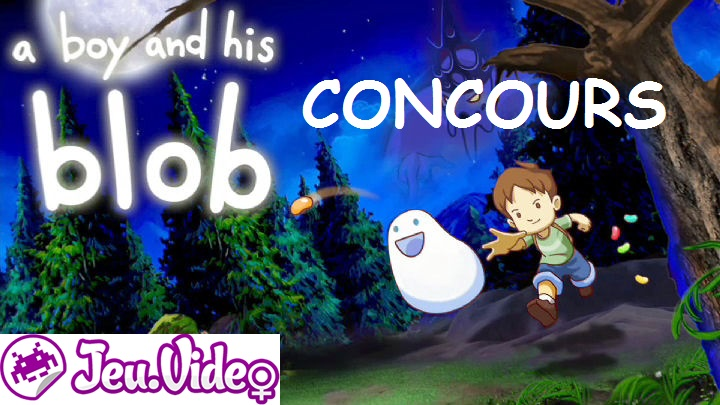 Concours a Boy and his blob