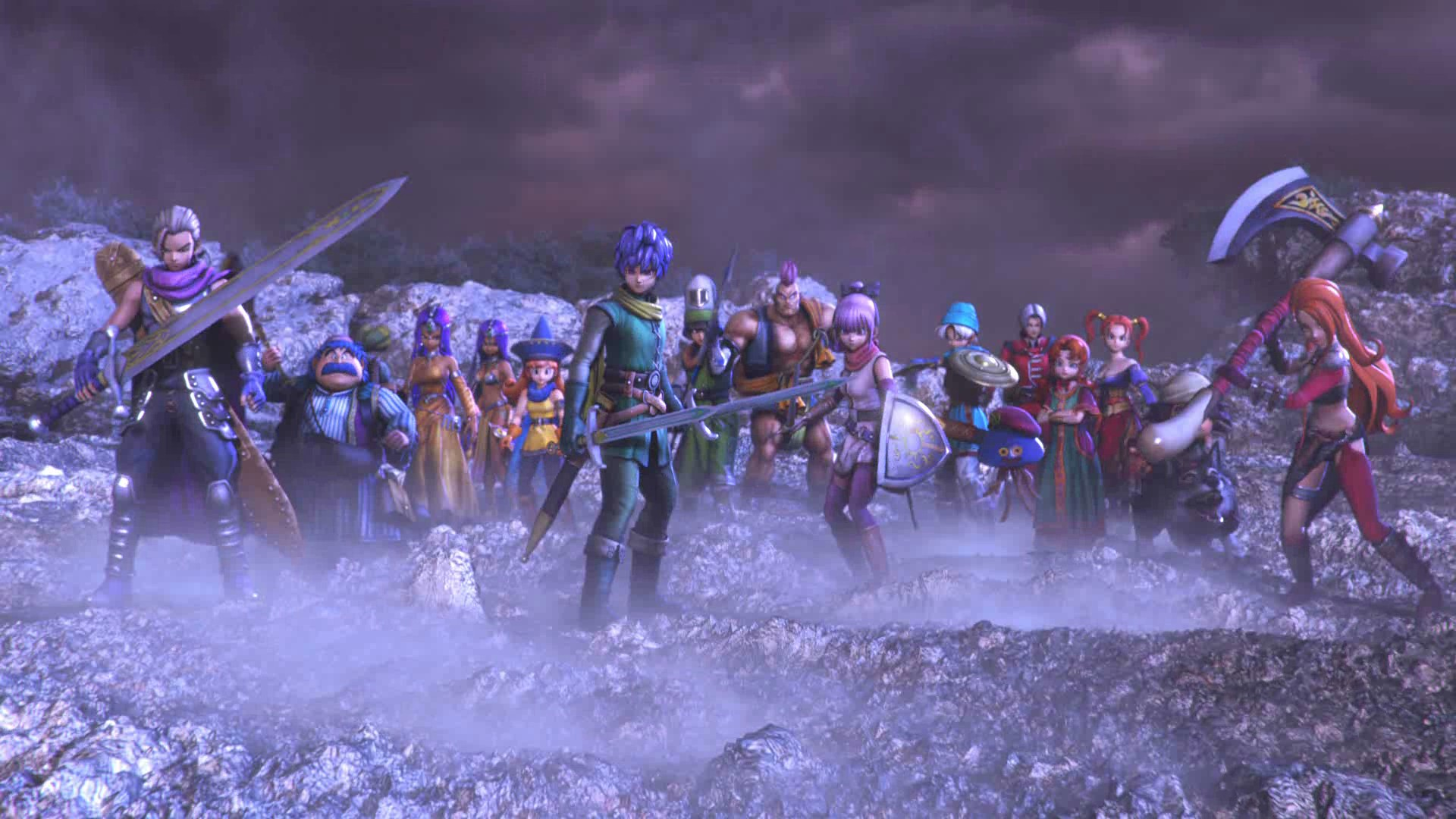 dragon quest heroes 2 héros