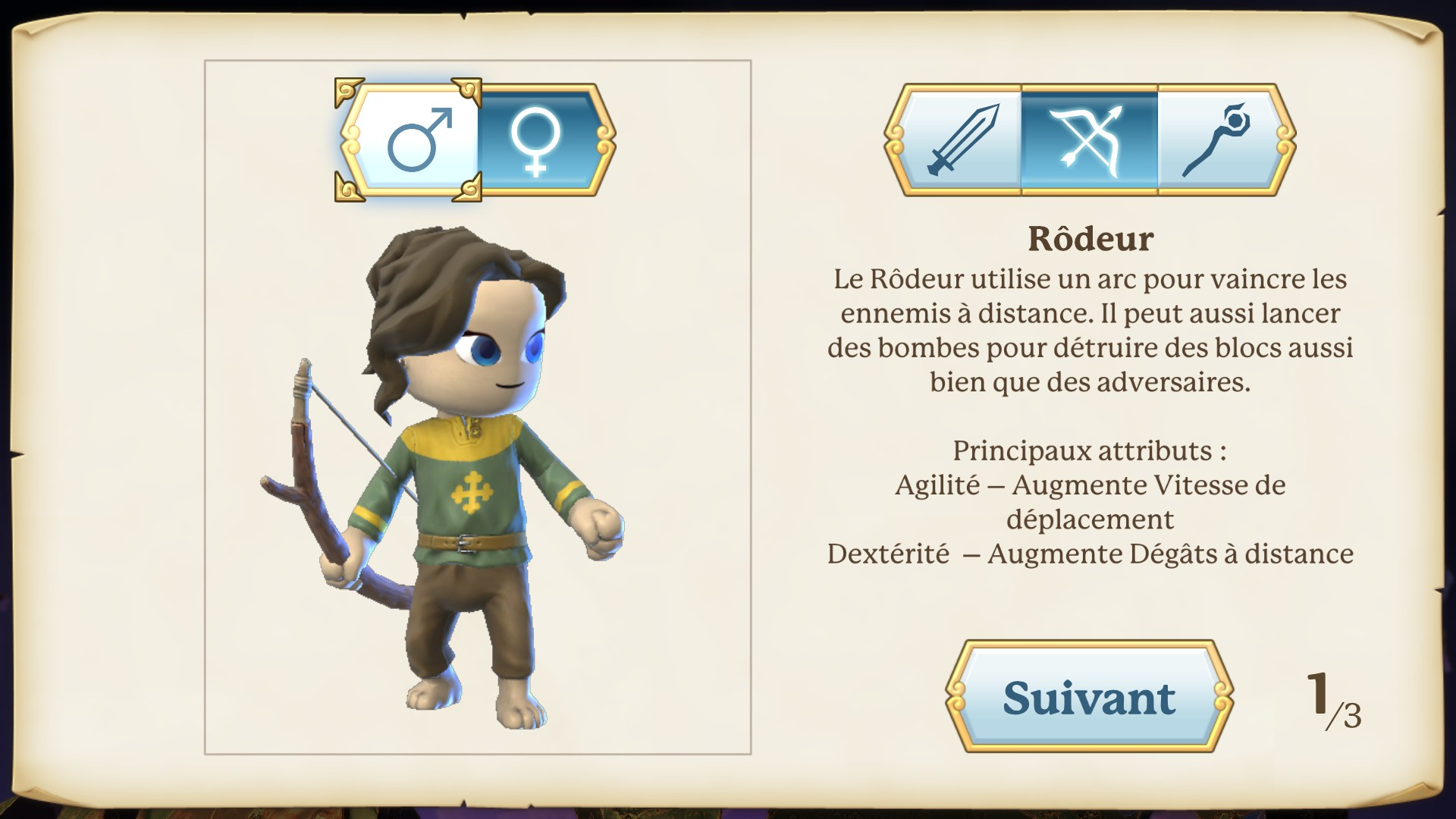 Portal Knights classes