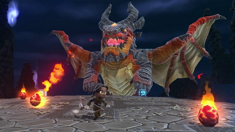 Portal Knights Boss Dragon