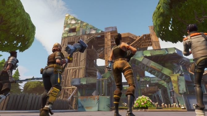 Fortnite fort