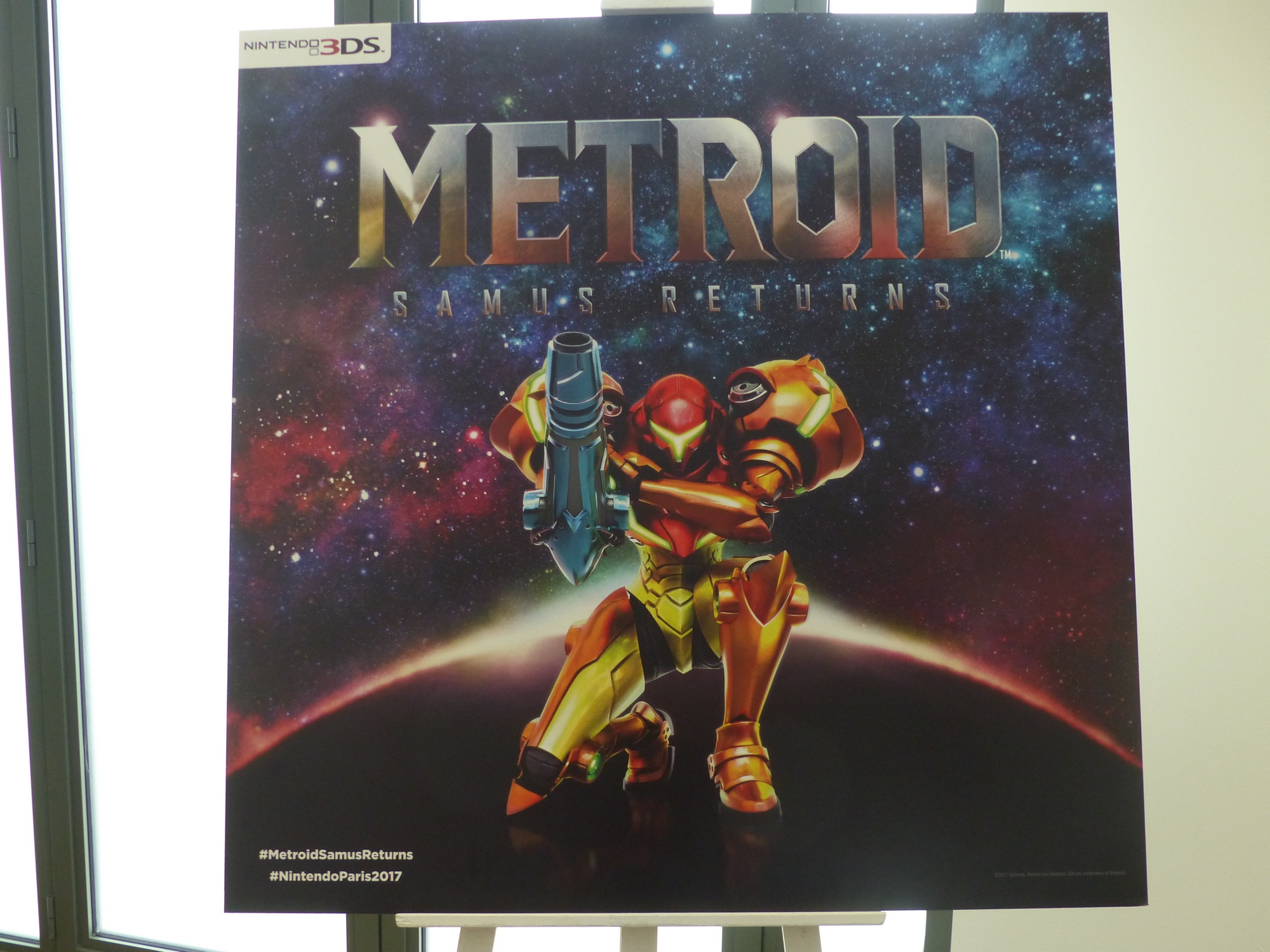 Nintendo Paris 2017 metroid