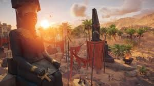 environnement assassin's creed origins