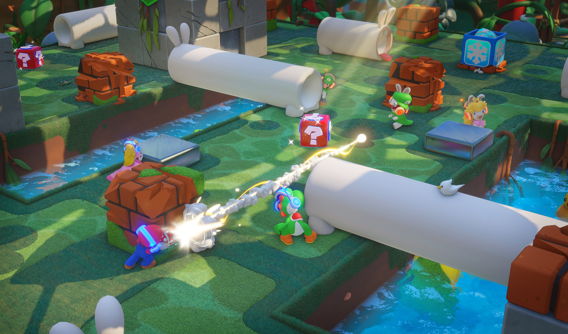 Mario rabbids mode versus