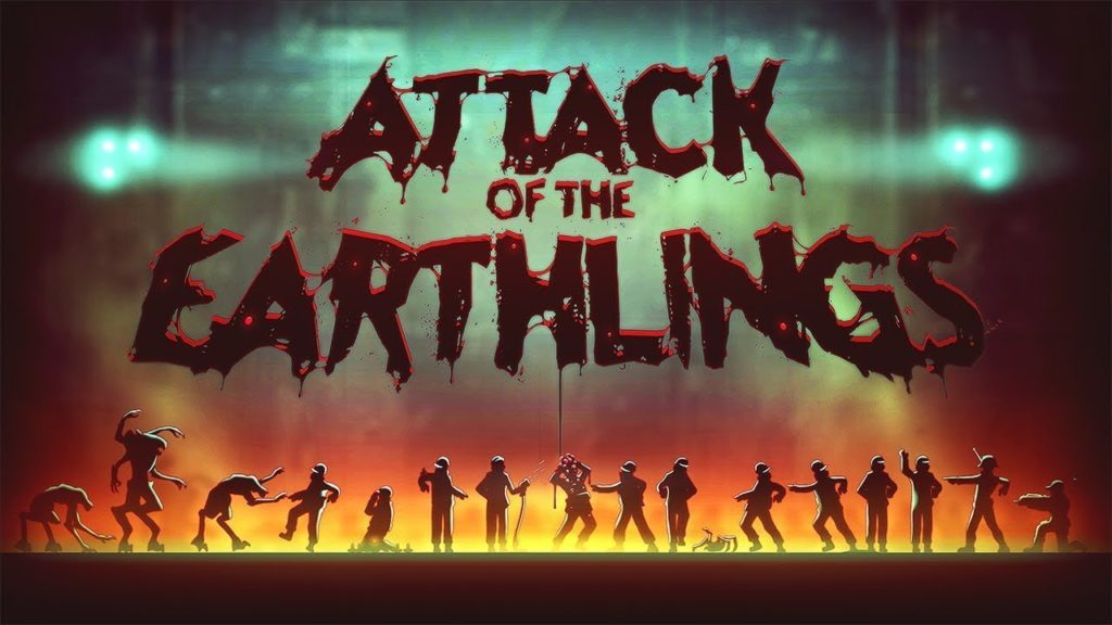 Attack of the Earthlings - fond