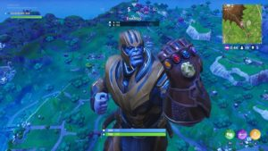 Thanos et son gantelet