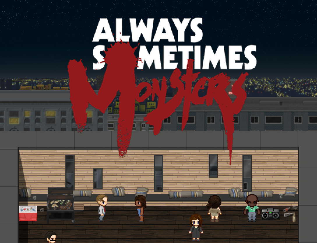 Always Sometimes Monsters - A la une