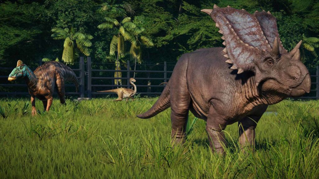 Jurassic World Evolution Dinosaures