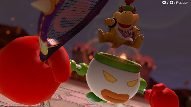 Mario Tennis Aces screen 3