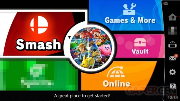 news smash bros direct menu