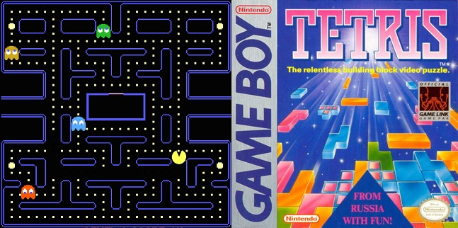 Mediatisation JV Pac-Man + Tetris