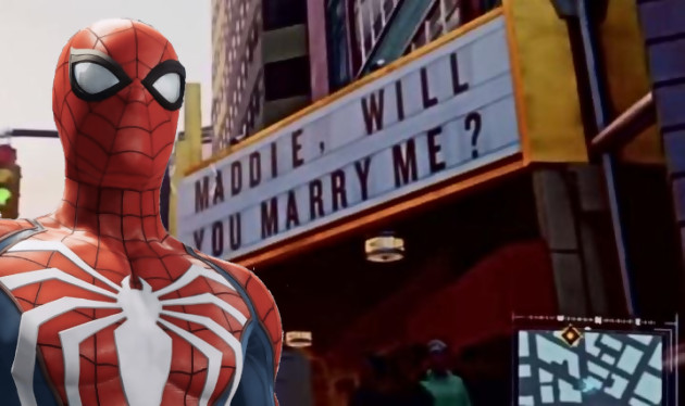 Spider-Man Easter Eggs - Maddie will you marry me