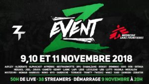 Z Event 2018 - affiche