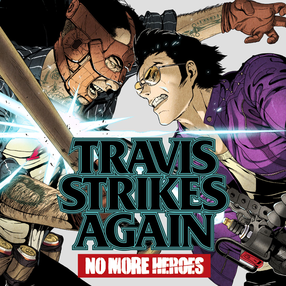 Travis Strikes Again : No More Heroes jaquette