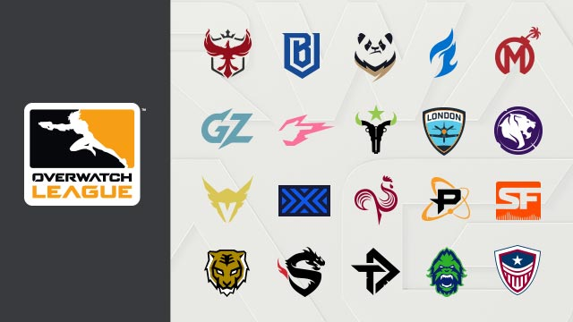 Overwatch League équipes