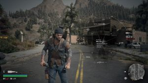 Days Gone - Menu Radial