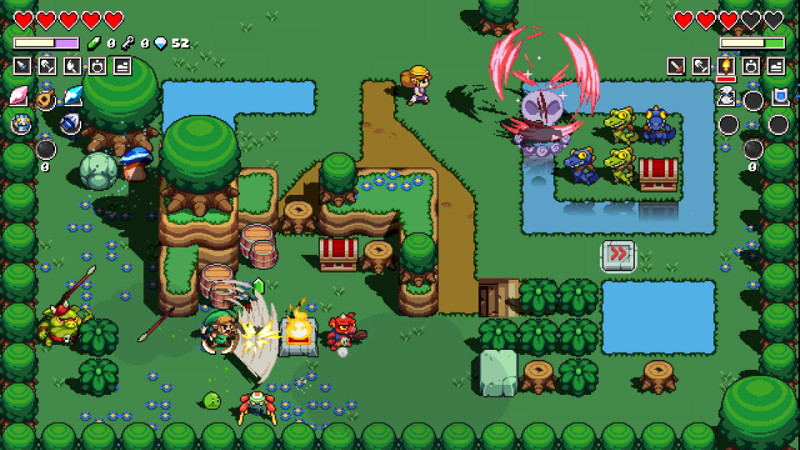 cadence of hyrule screen