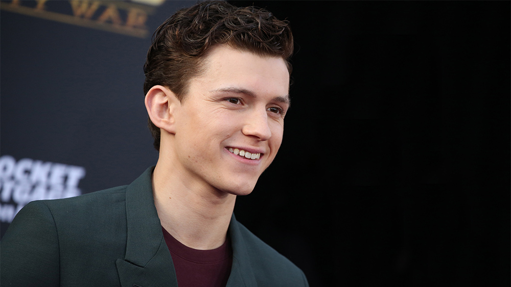 Mandatory Credit: Photo by Matt Baron/REX/Shutterstock (9640561vn) Tom Holland 'Avengers: Infinity War' film premiere, Arrivals, Los Angeles, USA - 23 Apr 2018