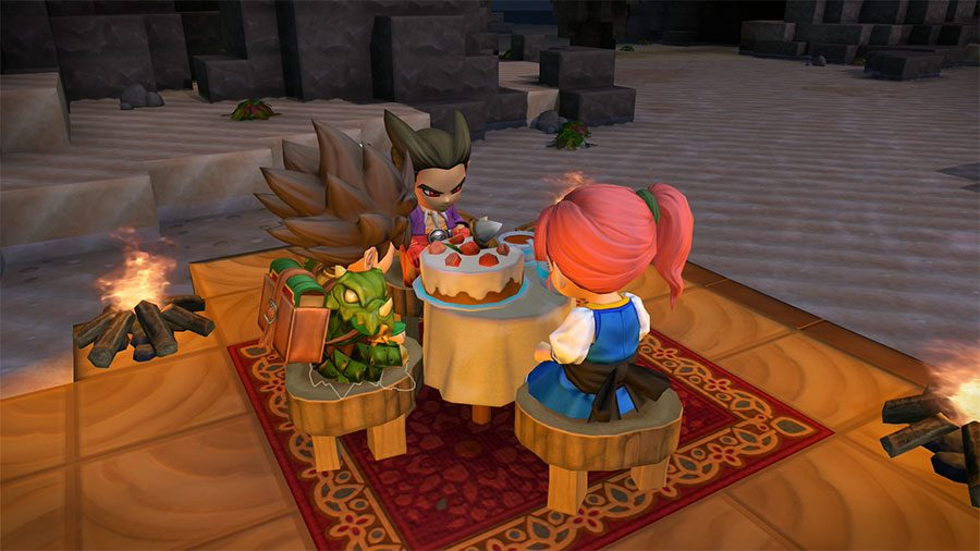 Dragon Quest Builders 2 - Quickie - Cuisinez