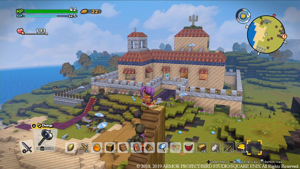 Dragon Quest Builders 2 - Quickie - Détruire et reconstruire