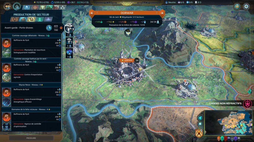Age of Wonders Planetfall - Quickie - Guide des colonies 2