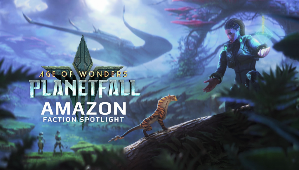 Age of Wonder : Planetfall Amazones Race