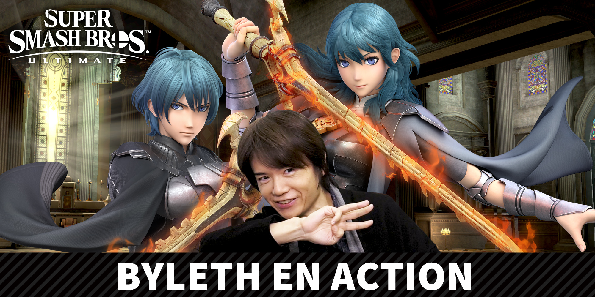 Super smash bros ultimate direct - byleth