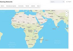 African Gaming Networks image de la map - image une