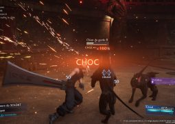 Final Fantasy VII Remake - Combats - Choc