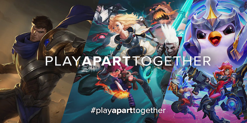#Playaparttogether - riot game