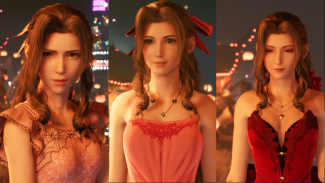Final Fantasy VII Remake - robes - Aerith - rpgsite.net
