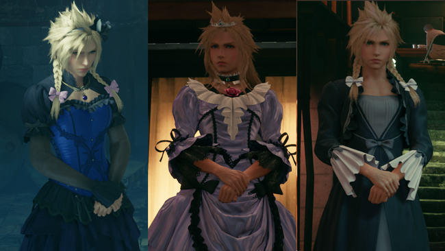 Final Fantasy VII Remake - robes - Cloud - rpgsite.net