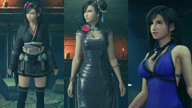 Final Fantasy VII Remake - robes - Tifa - rpgsite.net