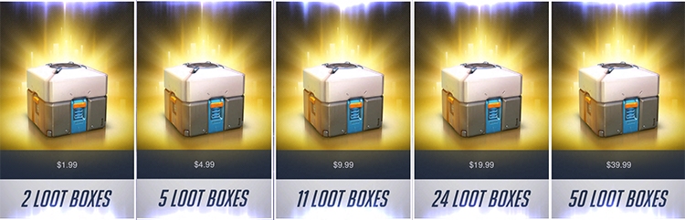 overwatch - loot boxes