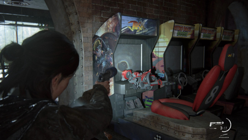 The Last of Us: Part II easter eggs - borne d'arcade