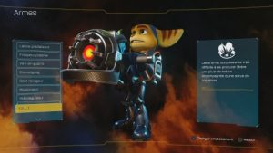 Ratchet and Clank - armes