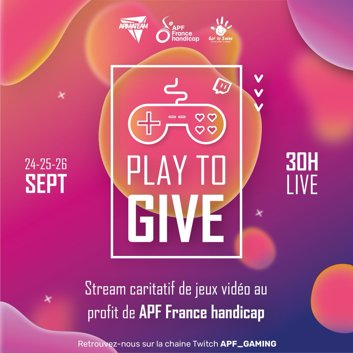 play to give - alaune